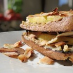Toast w Ginger & Vanilla Peanut Butter, Pineapple & Toasted Coconut Flakes