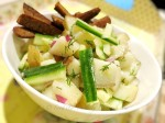 Potato, Cucumber & Sausage Salad