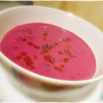 Beetroot & Lavender Soup