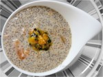 Raw Chia Pudding w Persimmon & Passionfruit