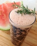 Watermelon & Rosemary Smoothie