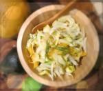 Witlof Salad w Mango, Pine Nuts, Avo & Dill