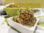 Sticky Rice Cakes with Aniseed, Orange & Pistachio