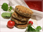 Mushroom & Butter Bean Patties